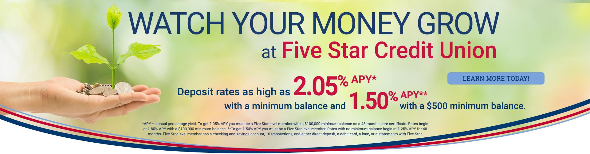 Deposit Rate Campaign