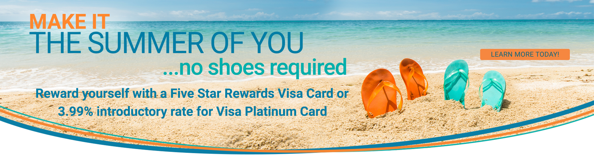 Make It The Summer Of You - Visa Card