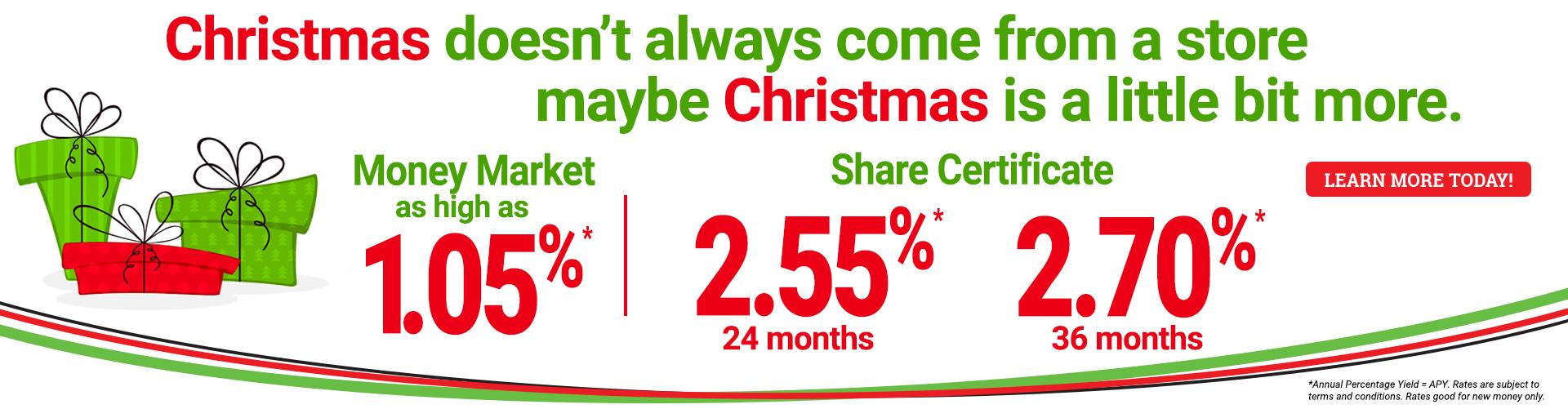 Christmas Rates