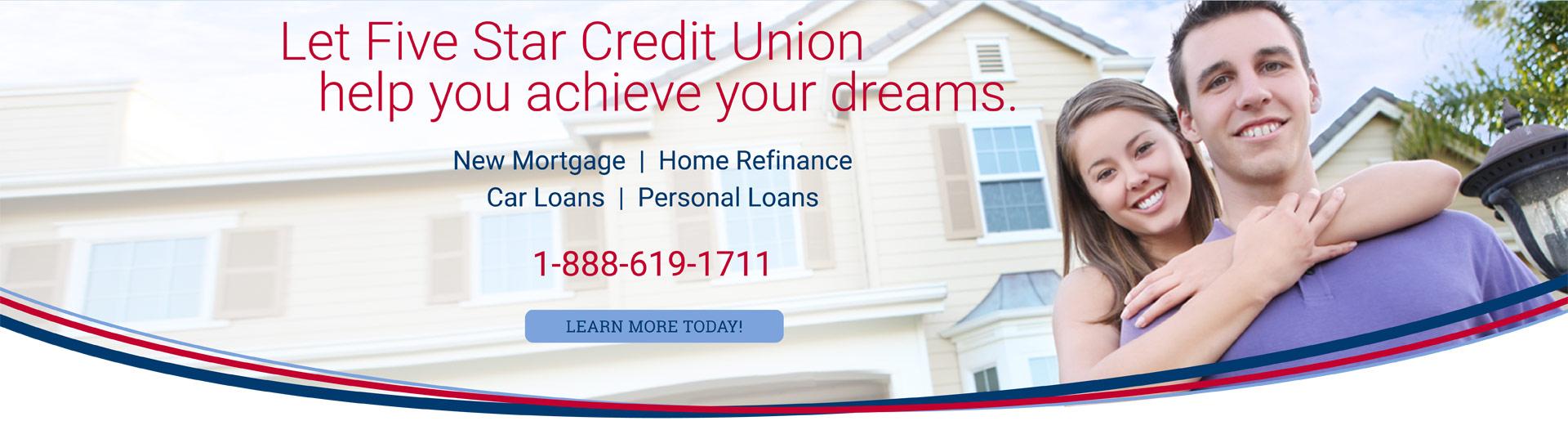 let-five-star-credit-union-help-you-achieve-your-dreams