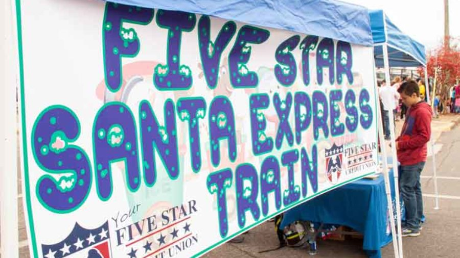 All Aboard Five Star Santa Express