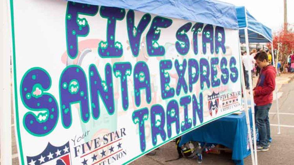 All Aboard Five Star Santa Express
